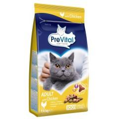 PreVital Cat Kuřecí se zeleninou 1,8kg