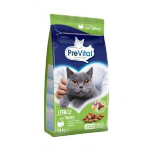 PreVital Cat granule STERILE s krůtím 1,4kg