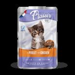 Plaisir cat KAPSA kitten kuřecí 100g - NEW