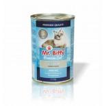 Mr. Biffy Cat konzerva pro KOČKY Ryba 415g