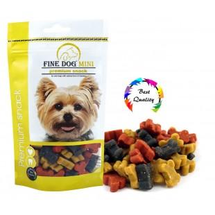 FINE DOG MINI Kostičky Soft MIX 100g - DOYPACK - NEW