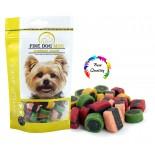 FINE DOG MINI Licorice Soft MIX 100g - DOYPACK - NEW